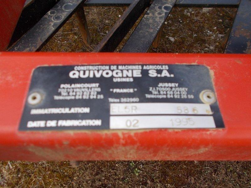 Egge типа Quivogne HV 530, Gebrauchtmaschine в WALDIGHOFFEN (Фотография 2)