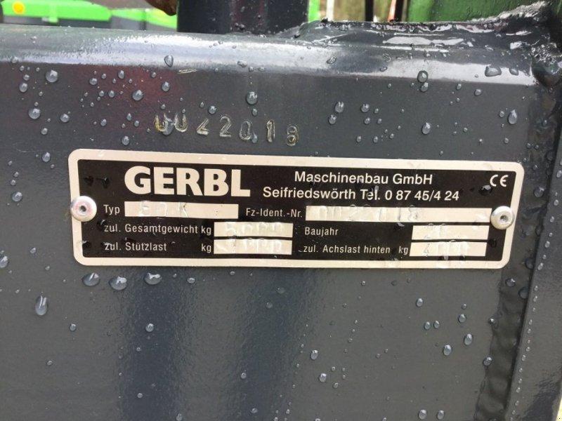 Einachskipper a típus Gerbl EDK 50, Neumaschine ekkor: Fürsteneck (Kép 2)