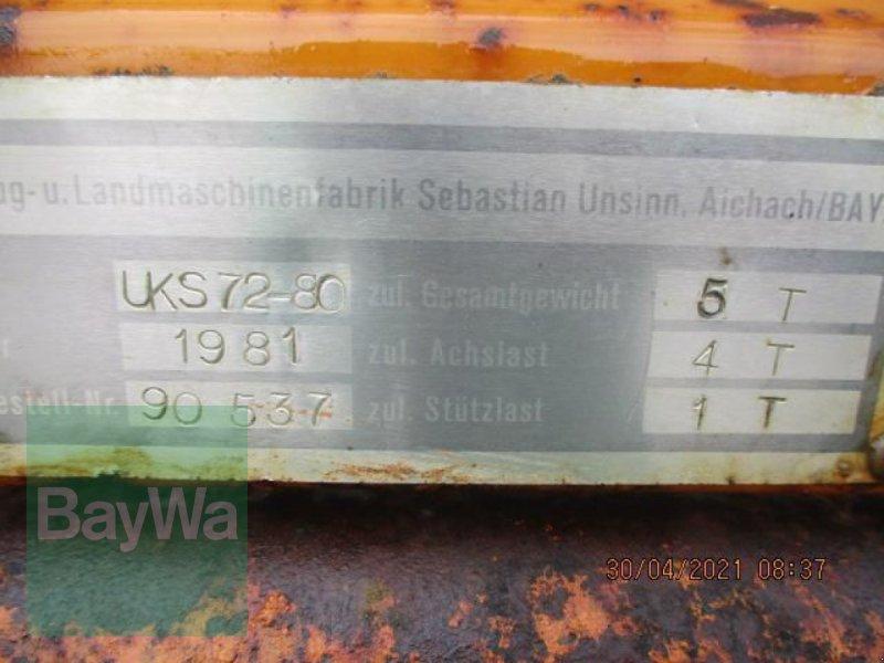Einachskipper des Typs Unsinn UKS 72-80  #529, Gebrauchtmaschine in Schönau b.Tuntenhausen (Bild 13)