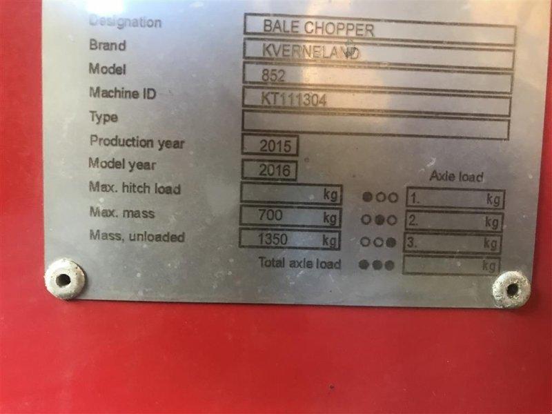 Einstreutechnik типа Kverneland 852 el Betjent tud, Gebrauchtmaschine в Tinglev (Фотография 8)
