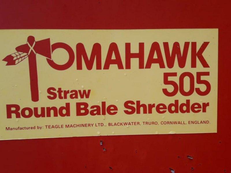 Einstreutechnik типа Teagle Tomahawk 505, Gebrauchtmaschine в Villach/Zauchen (Фотография 4)