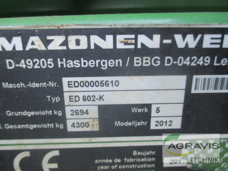 Einzelkornsägerät a típus Amazone ED 602-K CONTOUR PROFI, Gebrauchtmaschine ekkor: Lage (Kép 15)