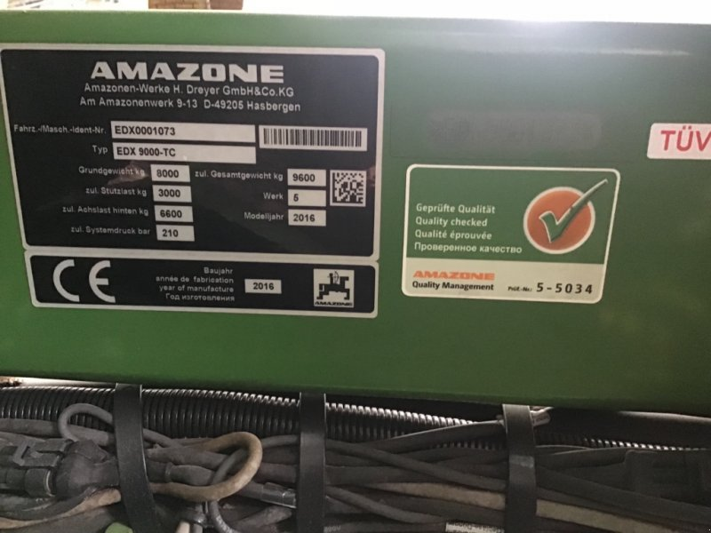 Einzelkornsägerät a típus Amazone EDX 9000 TC, Gebrauchtmaschine ekkor: Weyersheim (Kép 1)