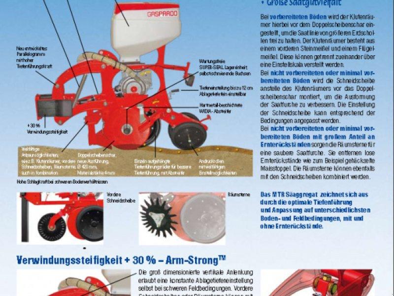 Einzelkornsägerät tipa Gaspardo Maschio MTR 4 Reihen mit Inox Düngerstreuer  13600€, Neumaschine u Rovisce (Slika 10)