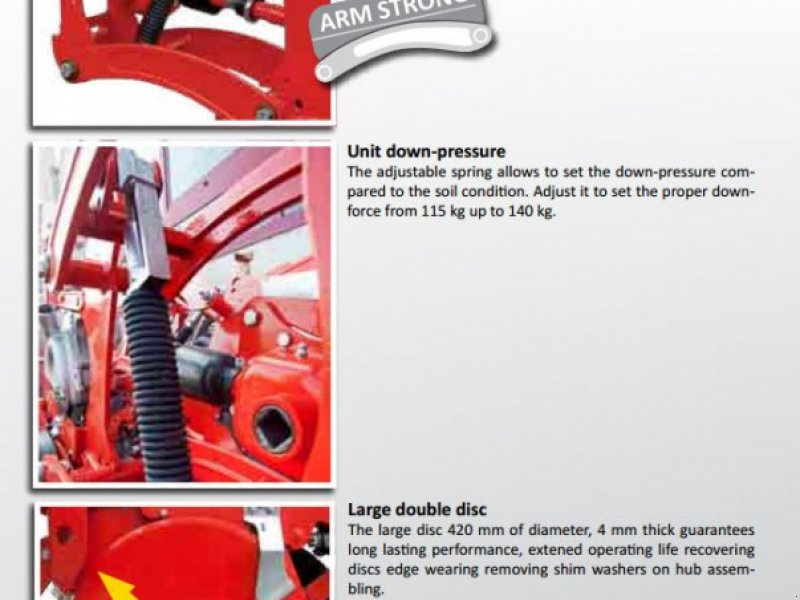 Einzelkornsägerät tipa Gaspardo Maschio MTR 4 Reihen mit Inox Düngerstreuer  13600€, Neumaschine u Rovisce (Slika 9)