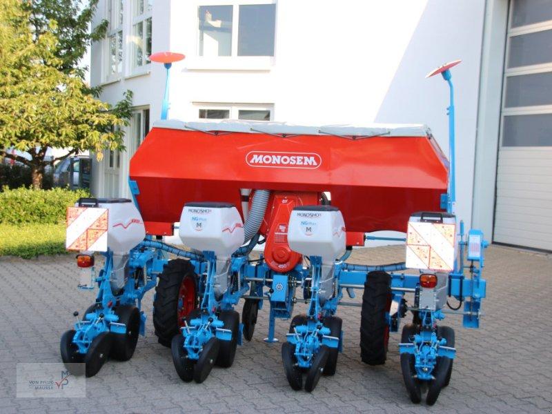 Einzelkornsägerät des Typs Monosem 4-reihig, Neumaschine in Mahlberg-Orschweier (Bild 1)