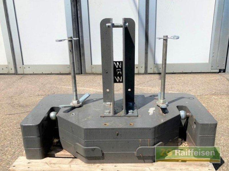 elektronische Zusatzgeräte des Typs Riebsamen Frontgewicht variabel 800+400 kg, Gebrauchtmaschine in Bühl (Bild 1)