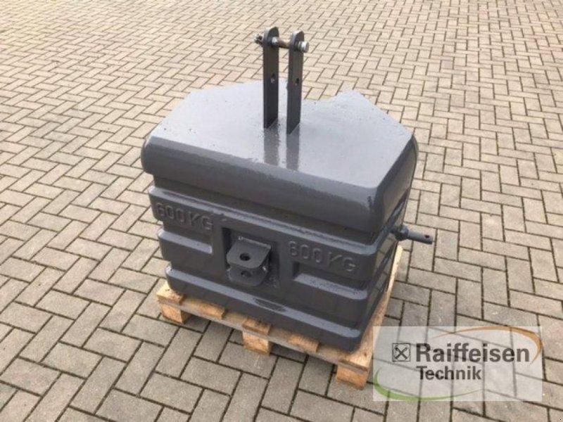 elektronische Zusatzgeräte типа Suer Frontgewicht 600 kg, Neumaschine в Ilsede-Gadenstedt (Фотография 1)