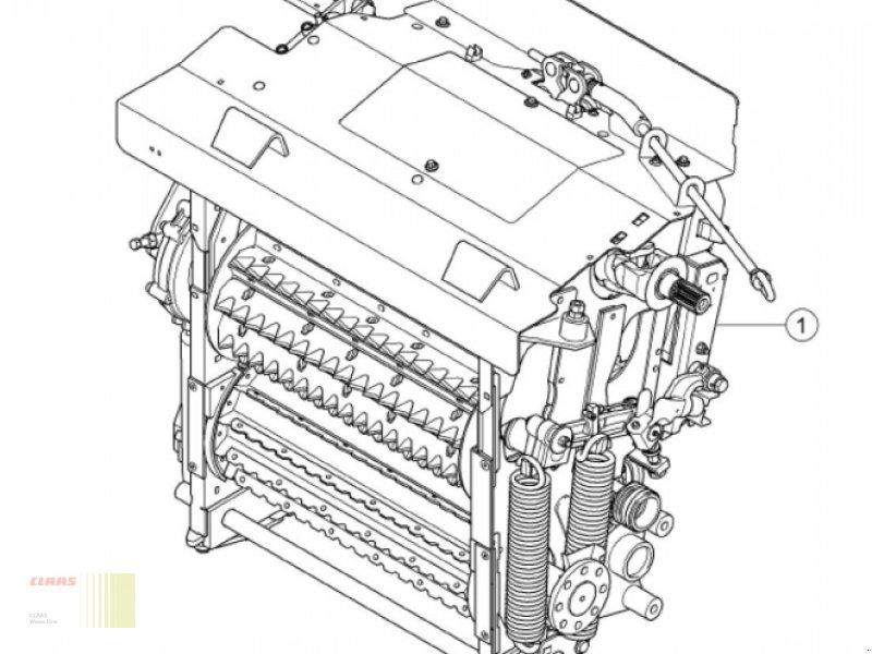 Feldhäcksler typu CLAAS JAGUAR 494 (930, 940, 950, 960, 970, 980) Einzugsgehäuse NEU komplett u. OVP, Neumaschine v Molbergen (Obrázok 1)