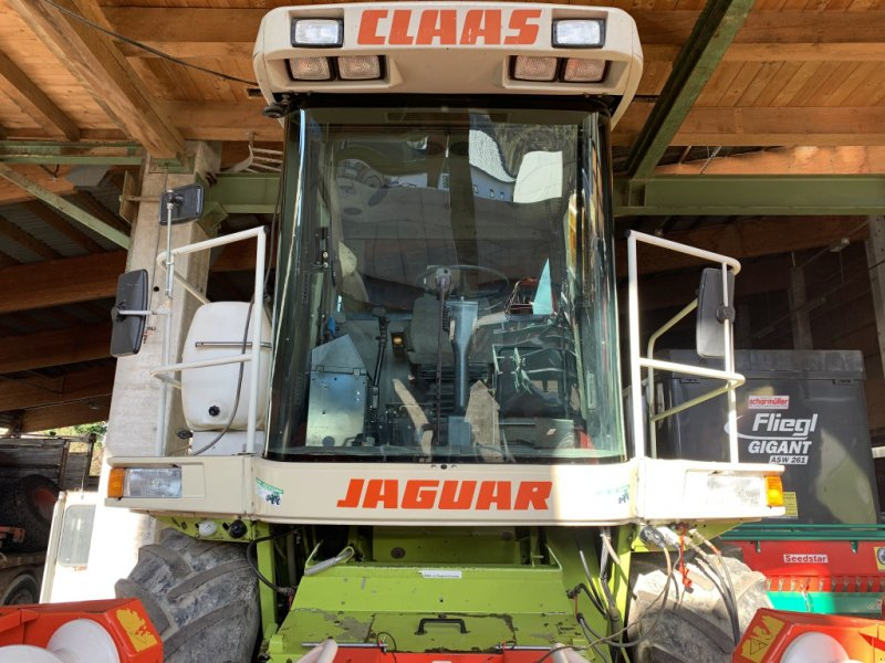 Feldhäcksler des Typs CLAAS Jaguar 840 A, Gebrauchtmaschine in Gschwandt (Bild 1)