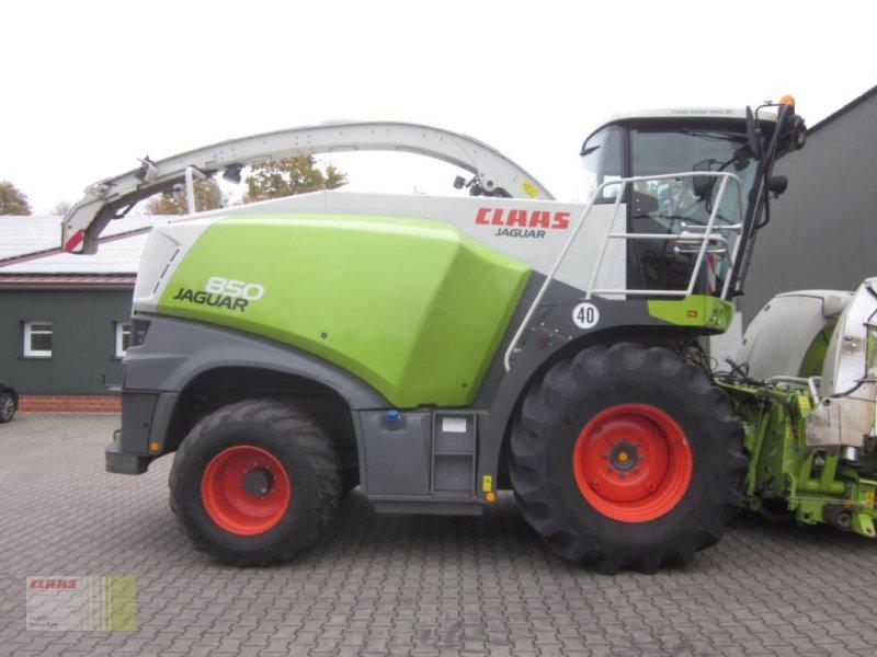 Feldhäcksler des Typs CLAAS JAGUAR 850 (496) Allrad 4WD, 40 km/h, nur 1.640 h !, Gebrauchtmaschine in Neerstedt (Bild 6)