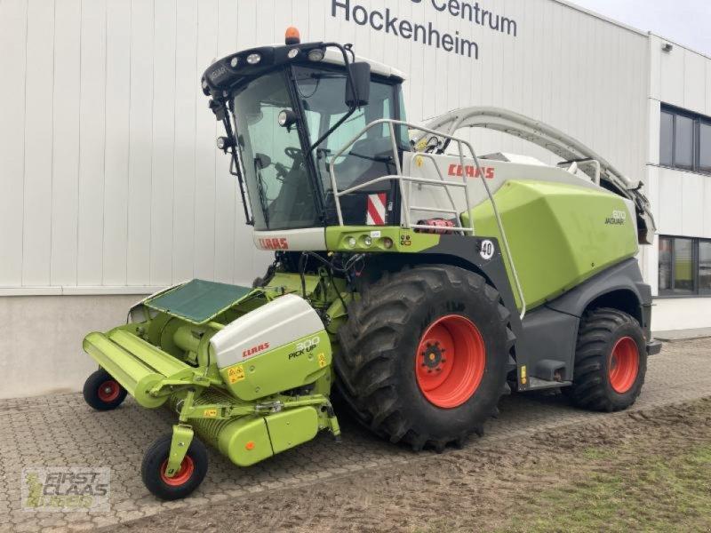 Feldhäcksler tip CLAAS JAGUAR 870 4WD T4f, Gebrauchtmaschine in Hockenheim (Poză 1)