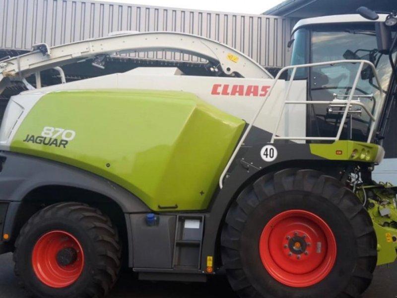 Feldhäcksler des Typs CLAAS Jaguar 870 Nirsensor, Allrad, Vorführmaschine in Schutterzell (Bild 1)