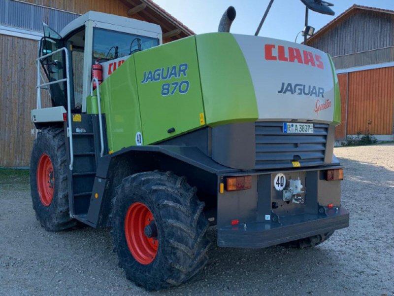 Feldhäcksler des Typs CLAAS Jaguar 870 Speedstar, Gebrauchtmaschine in Hemau (Bild 2)