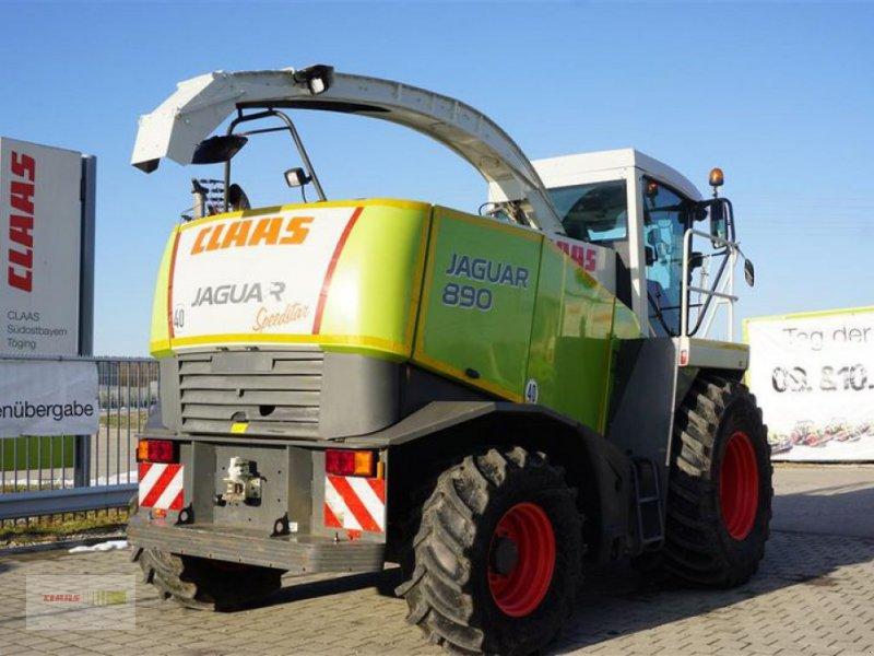 Feldhäcksler des Typs CLAAS JAGUAR 890 ALLRAD MIT PICK UP, Gebrauchtmaschine in Töging am Inn (Bild 7)