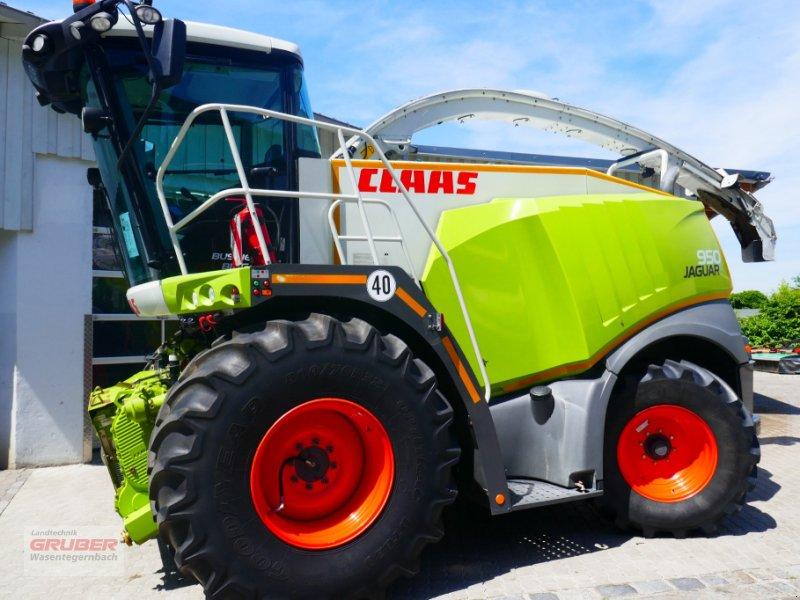 Feldhäcksler tip CLAAS Jaguar 950 4-Trac opt. CLAAS Maisvorsatz; PU 3m, Gebrauchtmaschine in Dorfen (Poză 1)