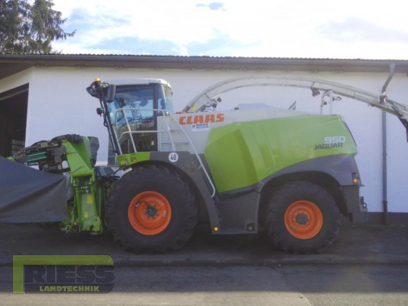 Feldhäcksler des Typs CLAAS JAGUAR 950 ORBIS 750, Gebrauchtmaschine in Homberg (Ohm) - Maulbach (Bild 5)