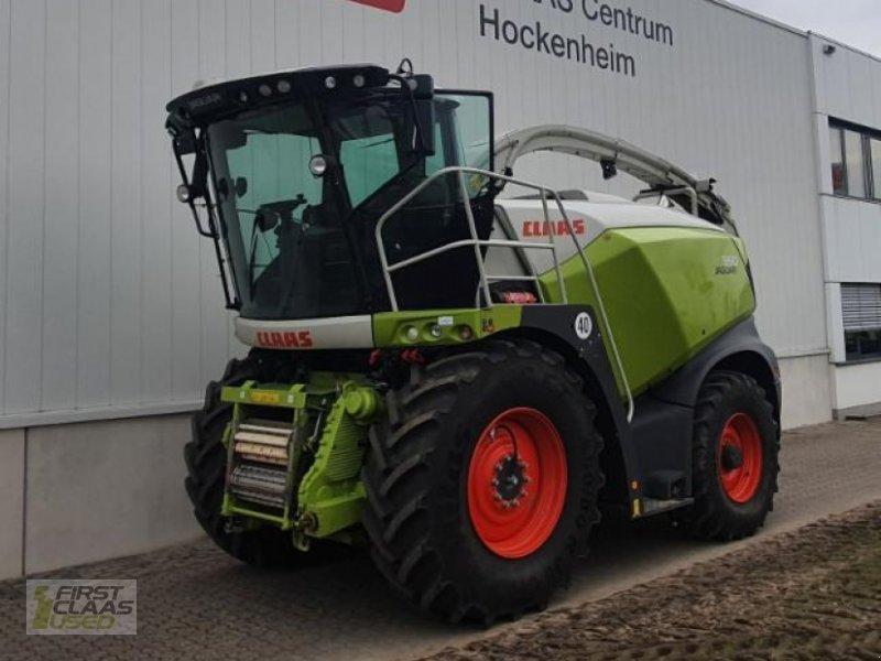 Feldhäcksler des Typs CLAAS JAGUAR 950 T4, Gebrauchtmaschine in Hockenheim (Bild 1)