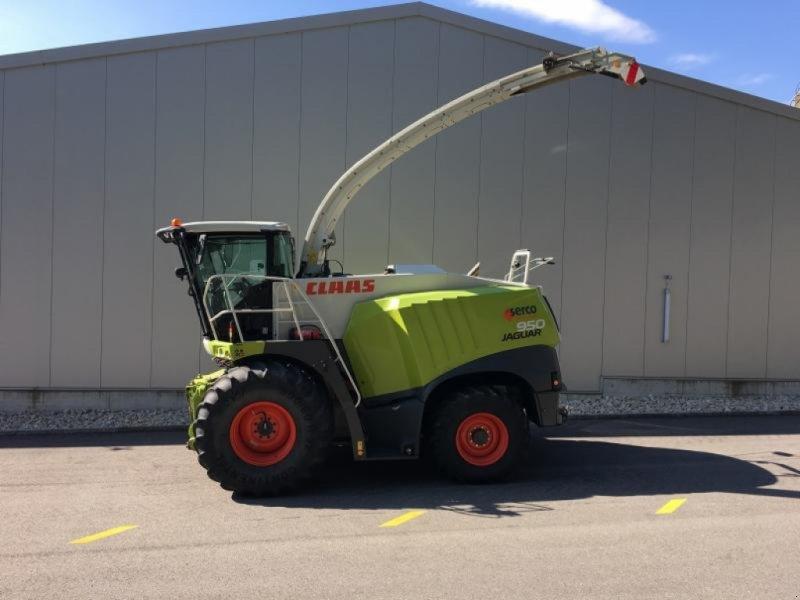 Feldhäcksler des Typs CLAAS JAGUAR 950 T4i, Gebrauchtmaschine in Oberbipp (Bild 3)