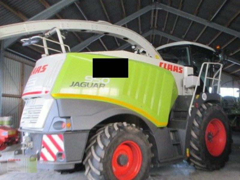 Feldhäcksler des Typs CLAAS JAGUAR 950, Gebrauchtmaschine in Heilsbronn (Bild 1)