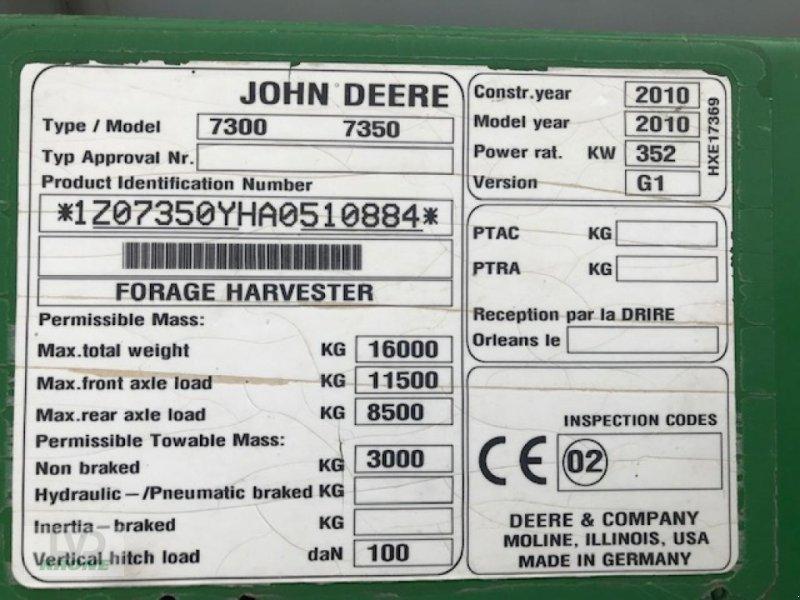 Feldhäcksler типа John Deere 7350i, Gebrauchtmaschine в Zorbau (Фотография 7)