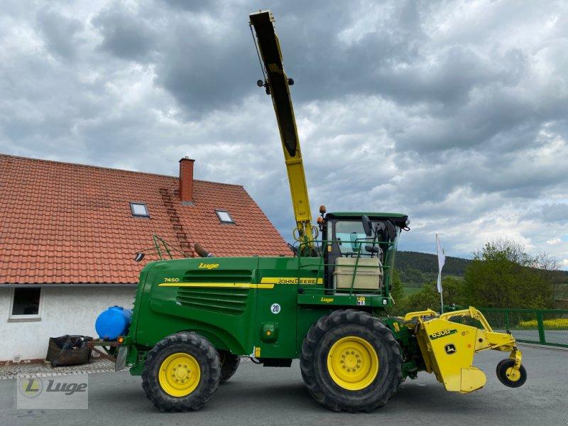 Feldhäcksler des Typs John Deere 7450, Gebrauchtmaschine in Uhlstädt-Kirchhasel (Bild 5)