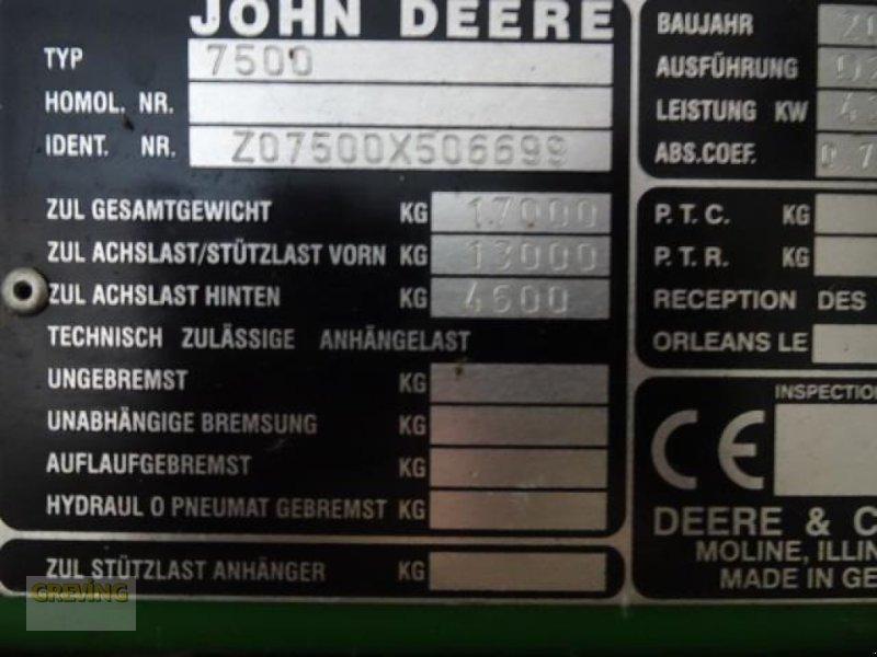 Feldhäcksler des Typs John Deere 7500, Gebrauchtmaschine in Greven (Bild 27)