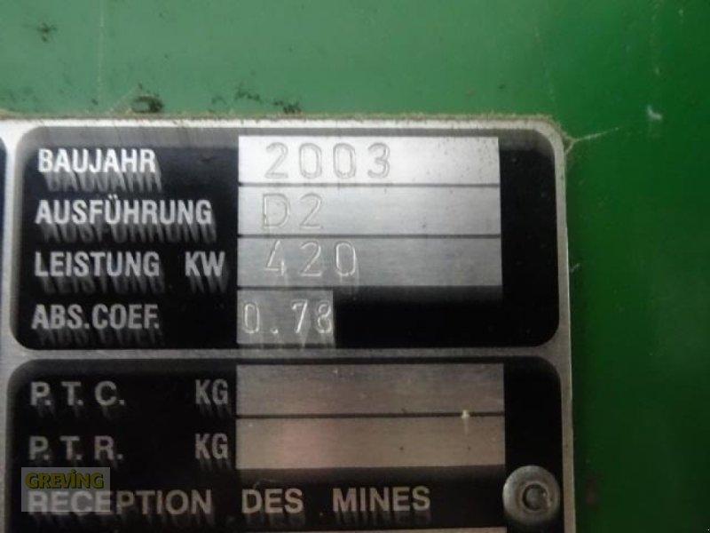 Feldhäcksler des Typs John Deere 7500, Gebrauchtmaschine in Greven (Bild 28)