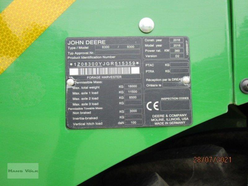 Feldhäcksler des Typs John Deere 8300i, Gebrauchtmaschine in Soyen (Bild 11)