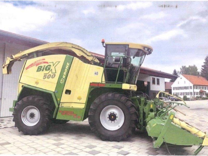 Feldhäcksler des Typs Krone Big X 500, Gebrauchtmaschine in Schutterzell (Bild 1)