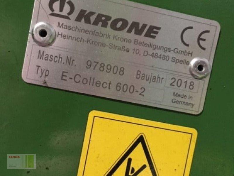 Feldhäcksler des Typs Krone BIG X 580, Gebrauchtmaschine in Bordesholm (Bild 18)