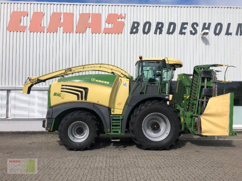 Feldhäcksler des Typs Krone BIG X 580, Gebrauchtmaschine in Bordesholm (Bild 2)