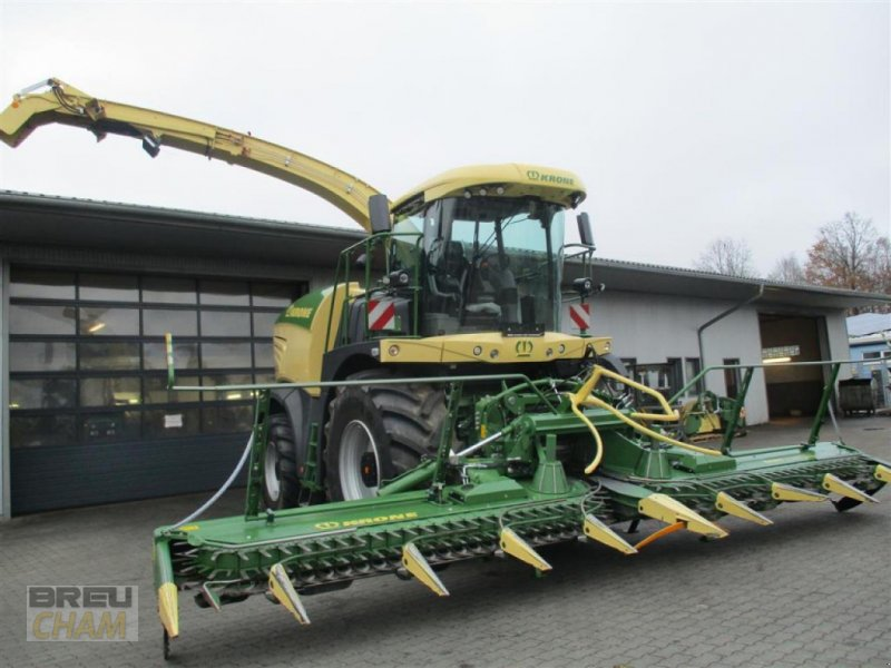 Feldhäcksler des Typs Krone Big X 630, Neumaschine in Cham (Bild 1)