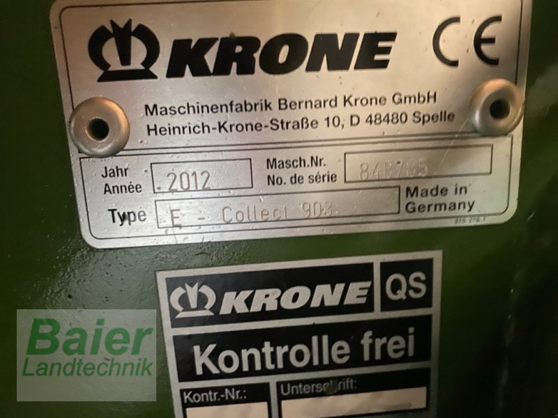 Feldhäcksler типа Krone Big X 700, Gebrauchtmaschine в Hochmössingen (Фотография 15)