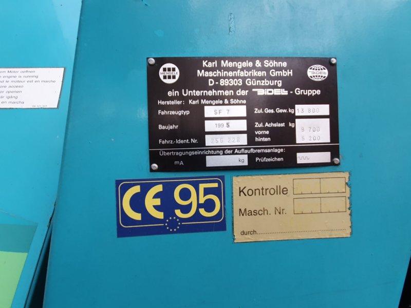 Feldhäcksler des Typs Mengele Mammut 6800, Gebrauchtmaschine in Cham (Bild 11)