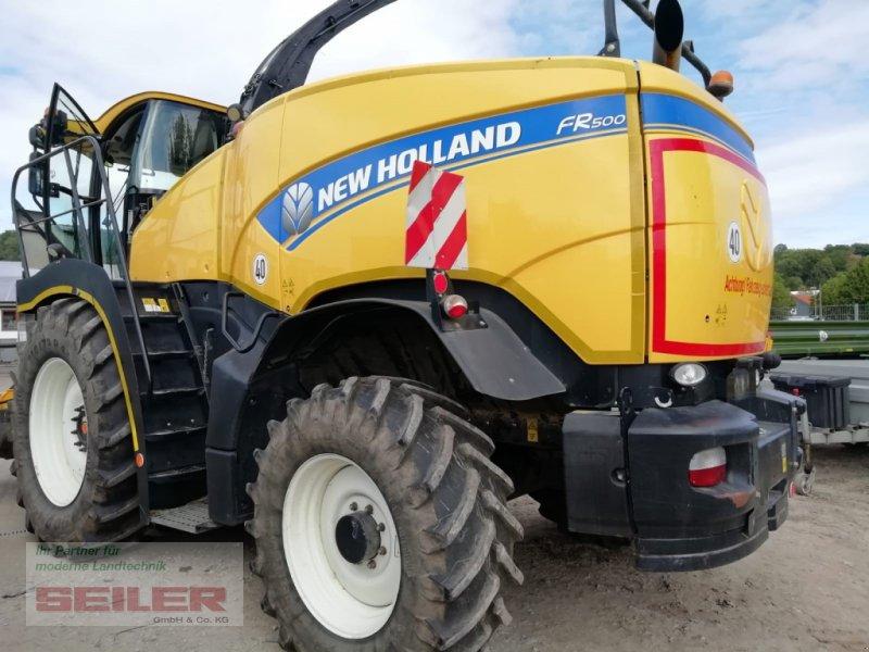 Feldhäcksler des Typs New Holland FR 500, Gebrauchtmaschine in Burghaslach (Bild 11)
