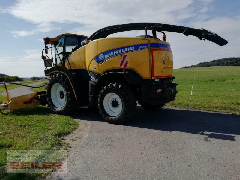Feldhäcksler des Typs New Holland FR 500, Gebrauchtmaschine in Burghaslach (Bild 12)