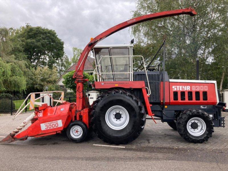 Feldhäcksler des Typs Sonstige Steyer 8300 kemper 3000, Gebrauchtmaschine in Vriezenveen (Bild 1)