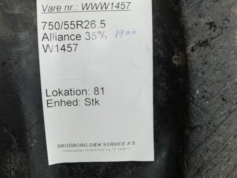 Felge a típus Alliance 750/55R26.5 Traktormønstrede hjul - Hydrema/CNH/ Volvo, Gebrauchtmaschine ekkor: Rødding (Kép 4)