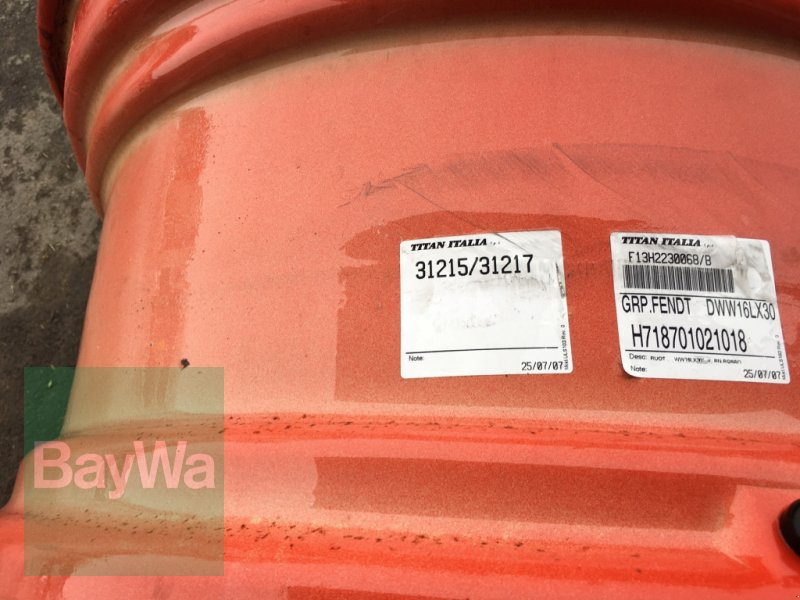 Felge des Typs Fendt DWW 16LX30 passend für Fendt 800 SCR &S4, Gebrauchtmaschine in Dinkelsbühl (Bild 4)