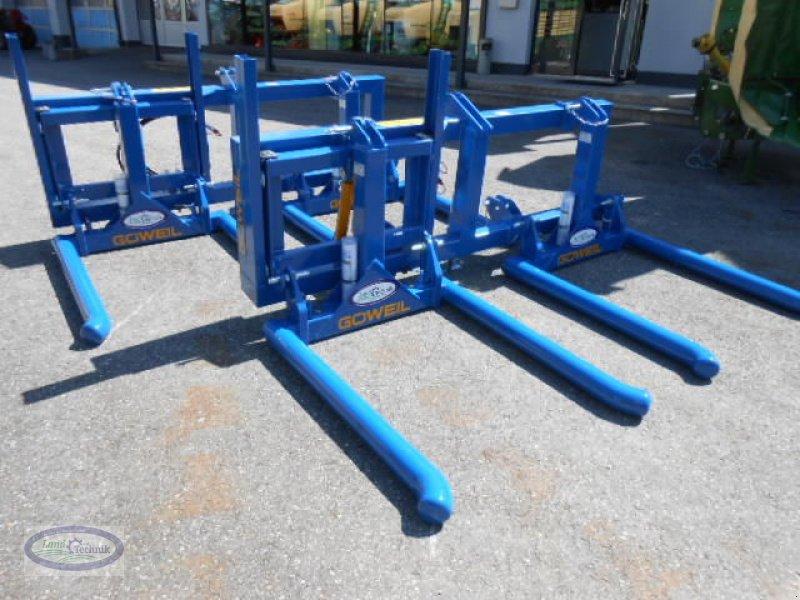 Folienballenzange типа Göweil Doppeltransportgabel, Neumaschine в Münzkirchen (Фотография 1)