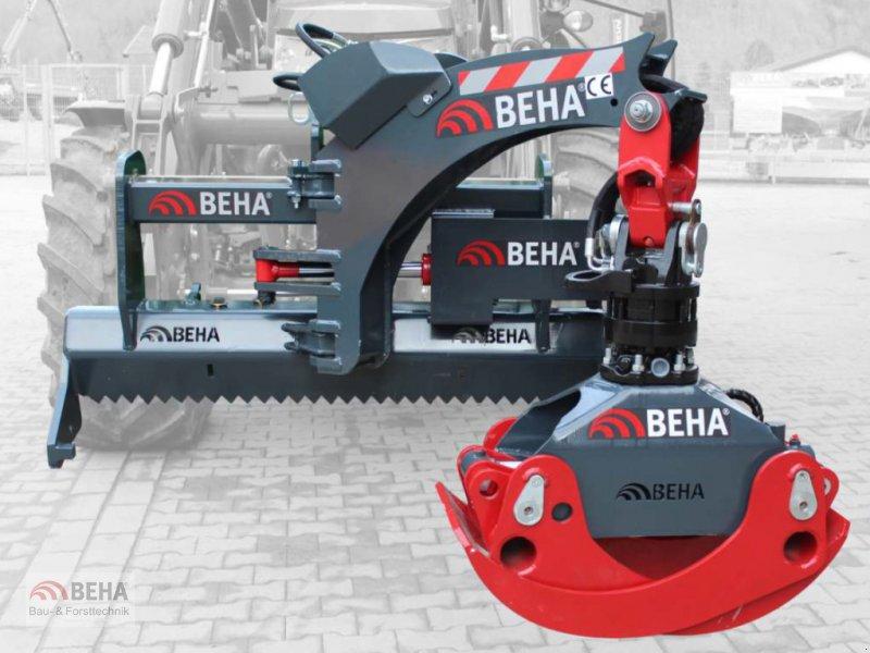 Forstgreifer und Zange des Typs BEHA FLG1-026/60F schwenkbar, Neumaschine in Steinach (Bild 1)