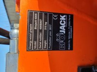 Bio Jack BIOJACK 400S mit Dreheinrichtung WD-L 0478 Forstgreifer und Zange