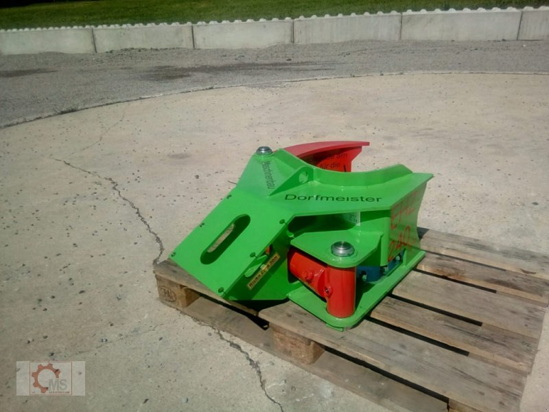 Forstgreifer und Zange des Typs Dorfmeister EHZ 240 Fällgreifer Energieholzgreifer, Neumaschine in Tiefenbach (Bild 7)