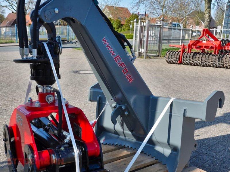 Forstgreifer und Zange des Typs EiFo HG020, Neumaschine in Billerbeck (Bild 1)