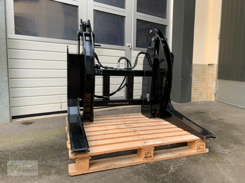 Forstgreifer und Zange des Typs Inter Tech Holzzange, Neumaschine in Alitzheim (Bild 1)