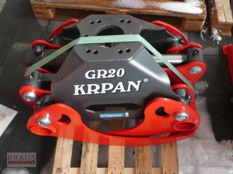 Forstgreifer und Zange des Typs Krpan GR 130 / GR 20 Greifer, Neumaschine in Geiersthal (Bild 1)