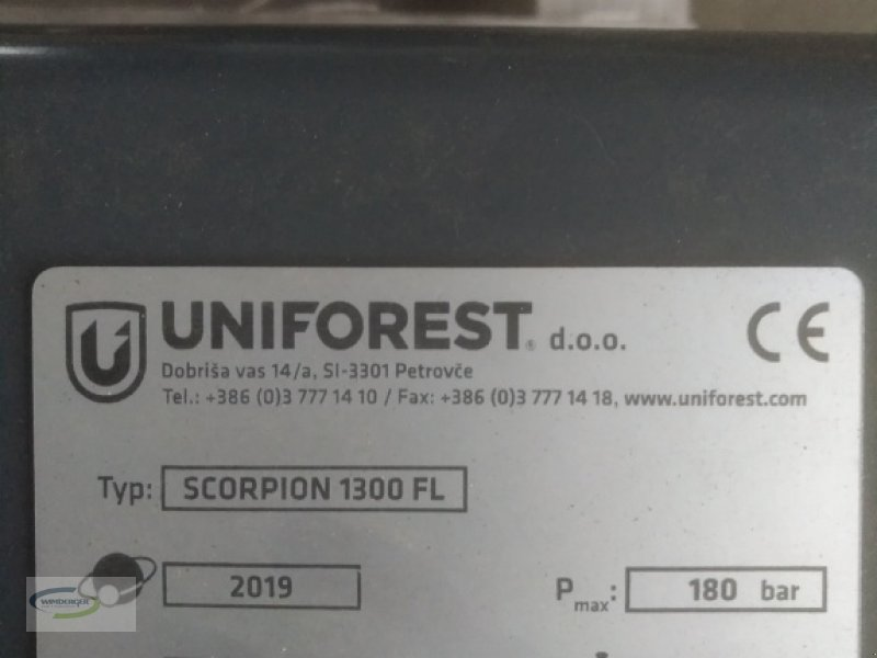 Forstgreifer und Zange des Typs Uniforest Scorpion 1300 FL, Neumaschine in Frontenhausen (Bild 5)