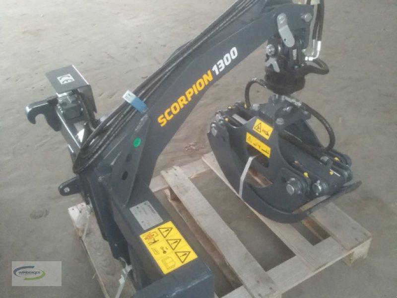 Forstgreifer und Zange des Typs Uniforest Scorpion 1300 FL, Neumaschine in Frontenhausen (Bild 2)
