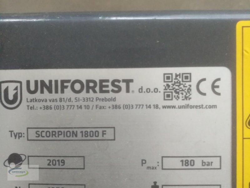 Forstgreifer und Zange des Typs Uniforest Scorpion 1800 F, Neumaschine in Frontenhausen (Bild 5)